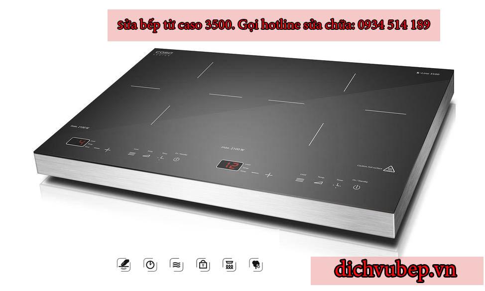 Hướng dẫn sử dụng bếp từ Đức Caso 3500