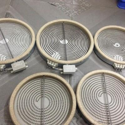 Mâm nhiệt bếp hồng ngoại 20cm - 1 vòng nhiệt có cảm biến ngang