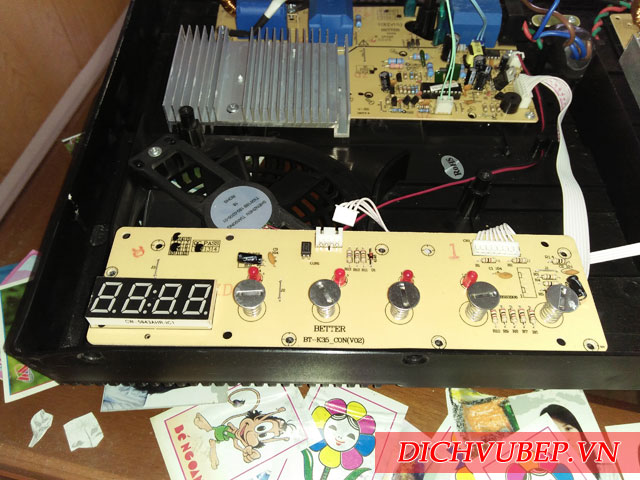 Hướng dẫn cách tự sửa bếp từ bị ngắt điện khi sử dụng