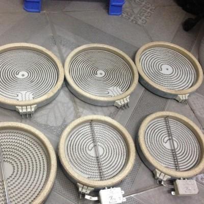 Mâm nhiệt bếp hồng ngoại 23cm - 2 vòng nhiệt có cảm biến ngang